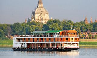 MS Paukan - Burma - Kreuzen durch das Land der goldenen Pagoden